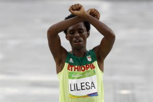 Feyisa Lilesa, maratoneta di etnia oromo