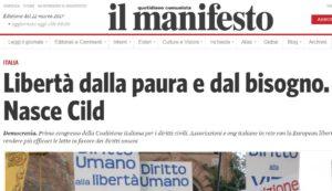 Il Manifesto - Open Society Foundations