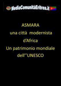 ASMARA UNA CITTA MODERNISTA 13-11-2017
