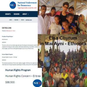 Human Rights Concern Eritrea - Elsa Chyrum