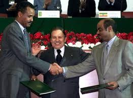 Isaias Afewerki e Meles Zenawi