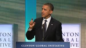 President Obama, Clinton Global Initiative